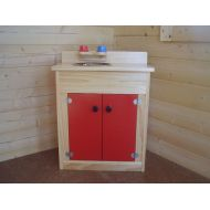 NA Kids Wooden Play Sink