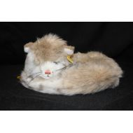Na New Vintage STEIFF Curled Up Cat Kitten Stuffed Animal #275022, Western Germany
