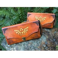 SkinzNhydez Nintendo Switch Case - Leather Zelda themed Nintendo Switch carrying case