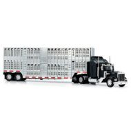ニュレイ [New Ray] new ray 1/43 D/C Kenworth W900 Pot Belly Livestock Trailer 15243 [parallel import goods]