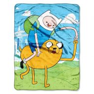 Northwest Adventure Time, Fist Pump Micro Raschel Throw, 46 x 60