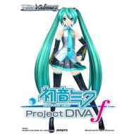 Official Weiss Schwarz Booster Box English version of Hatsune Miku-Project DIVA-f (20 packs / 8 cards)