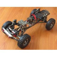 Powerday Aolly RC SCX10 1/10 Scale 4WD Rock Crawler Chassis Frame Kit Assembled