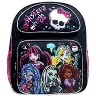 Prannoi Backpack - Monster High Large Full Size 16 School Bag - Ghoul Nerd Scarylicious