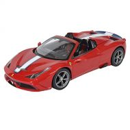 RASTAR Raster 1/14 Scale RC Car Rastar fera-ri- Ferrari 458 supetia-re Red Roof Electric Closure 華 Garden