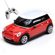 RASTAR Rastar ◇ Mini Cooper S Genuine Certified Car RC Car 1/24 Red