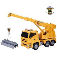 Eight24hours 118 5CH Remote Control RC Crane Heavy Construction Lifting Truck Toy New + FREE E - Book