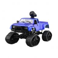 ETbotu WiFi 2.4G Remote Control Car 1:16 Military Truck Off-Road Climbing Auto Toy Car Controller Toys Red Hollow Tire 1:16
