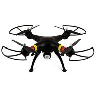 SYMA Syma X8W 2.4Ghz 4CH RC Headless FPV (Real Time) Quadcopter with Wifi Camera - BLACK