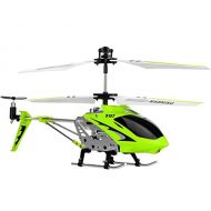 SYMA Syma 3 Channel S107/S107G Mini Indoor Co-Axial R/C Helicopter w/ Gyro (Green Color)