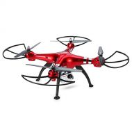 利的入門用ドロン Syma Drone X8HG With 8MP HD Camera 2.4G 4CH 6Axis Barometer Set Height Headless Mode RC Q