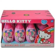 Sanrio Hello Kitty Bowling Set - 6 Pins & Bowling Ball