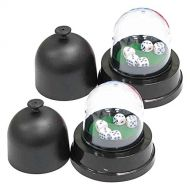 Serendipity Serendiptiy Automatic Dice Rolling Machine Auto Dice Roller Cup with 5 Dices, Battery Operated, 4.3x4.5, Black, Set of 2