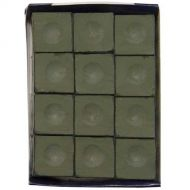 Silver Cup Chalk, Olive, 12-Piece Box