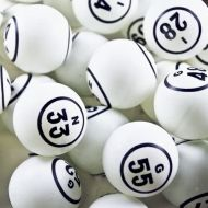 SmallToys Bingo Balls - Double Number in Circle