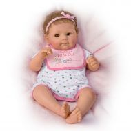The Ashton-Drake Galleries Daddys Little Girl So Truly Real Poseable, Weighted Baby Doll By Sherry Rawn
