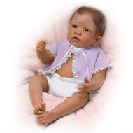 The Ashton-Drake Galleries Linda Murray So Truly Real Poseable Newborn Baby Girl Doll