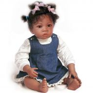 The Ashton-Drake Galleries Waltraud Hanl Jasmines At Age 1-1/2 So Truly Real Lifelike Baby Doll by Ashton Drake