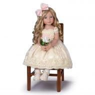 The Ashton-Drake Galleries So Truly Real Pearls Lace and Grace RealTouch Vinyl Child Doll:by