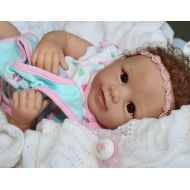 The Ashton-Drake Galleries Mommy Loves ME! - Feel her Breathe! 19Inch Collectors Baby Girl Doll + 2 Outfits