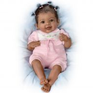 Taylors Ticklish Tootsies Wiggles Her Feet When You Tickle Them- So Truly Real Lifelike, Interactive & Realistic Baby Doll 22-inches by The Ashton-Drake Galleries