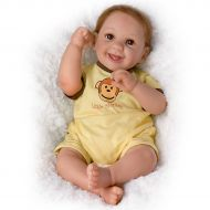 Ashton-Drake So Truly Real Little Monkey Poseable Baby Boy Doll by Cheryl Hill by The Ashton-Drake Galleries