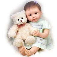 The Ashton-Drake Galleries Baby Doll: Lily And Gracie Bear Baby Doll by Ashton Drake