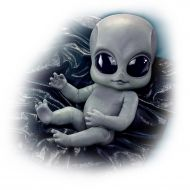 16 Greyson Alien Baby Doll With Poseable Arms And Legs by The Ashton-Drake Galleries