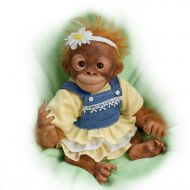 Darling Daisy Lifelike 10 Inch Monkey Doll by Amy Ferreira by The Ashton-Drake Galleries
