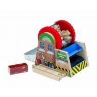 Thomas & Friends Fisher Price Thomas and Friends Wooden Train Railway Chopped Log Wood Chipper