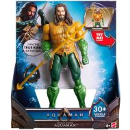 Toywiz DC Aquaman Movie Trident Strike Aquaman Action Figure [Lights & Sounds]