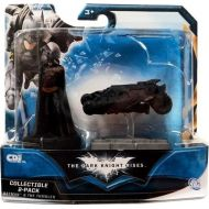 Toywiz The Dark Knight Rises Batman & The Tumbler Mini Figure 2-Pack