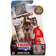 Toywiz DC Justice League Movie Interactive Talking Heroes Wonder Woman Deluxe Action Figure