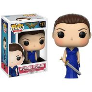 Toywiz DC Wonder Woman Movie Funko POP! Movies Wonder Woman Exclusive Vinyl Figure #177 [Blue Dress]