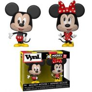 Toywiz Funko Disney Vynl. Mickey The True Original Mickey Mouse & Minnie Mouse 2-Pack [90 years] (Pre-Order ships February)