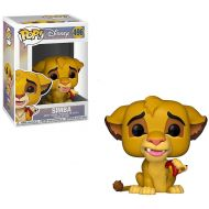 Toywiz The Lion King Funko POP! Disney Simba Vinyl Figure #496 [with Bug] (Pre-Order ships January)