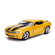 TRANSFORMERS-HASBRO Hollywood Rides 1:24 Scale 2006 Chevrolet Camaro Concept Bumblebee in Yellow from Transformers Diecast Car by Jada Toys