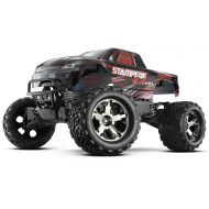 Traxxas Automobile 67086-4 Stampede 4X4 110 Monster Truck with Tqi 2.4GHz RadioTsm, Silver