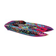 Traxxas 57046-4 Red DCB M41 Brushless Catamaran Boat with TQi 2.4 Ghz Radio & TSM, Red