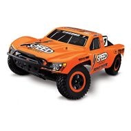 Traxxas RTR 110 Slash WD 2.4 GHZ with 7 Cell Battery and Charger  Orange Parallel import goods