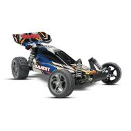 Traxxas Bandit VXL: 110 Scale Brushless Buggy with 2.4GHz Radio and TSM Stability Management, Blue