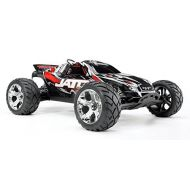 Traxxas Jato 3.3: 110 Scale Nitro-Powered 2WD Stadium Truck with TQi 2.4GHz Radio and TSM, Red [行輸