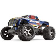 Traxxas 36076-3 Stampede VXL 110 Scale 2WD Brushless Monster Truck with TQi 2.4GHz Radio, Blue