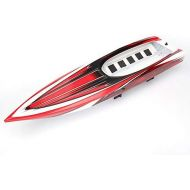Traxxas 5714X Spartan Hull, Red Graphics