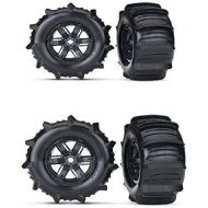 Traxxas TRAXXAS X-MAXX PADDLE WHEELS THAT GIVE YOU THE ABILITY TO GO ACROSS WATER WITH YOUR TRUCK. EVERYONE HAS SEEN THE VIDEO AND THESE TIRES AND WHEELS ARE WHAT MAKE IT HAPPEN