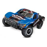 Traxxas Slash 110-Scale 2WD Short Course Racing Truck with TQ 2.4GHz Radio and OBA, Blue