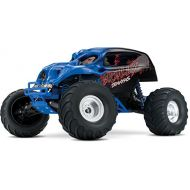 Traxxas Skully 110 Scale Monster Truck with TQ 2.4GHz Radio System, Blue