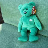Ty TY BEANIE BABY ERIN THE BEAR RARE WITH ERRORS