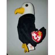 Ty TY Beanie Baby Baldy the Bald Eagle with Errors!