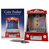 Unbranded Coin Pusher Machine Arcade Game Battery Operated Music Flashlight Voice New ♥ Guaranteed Quality